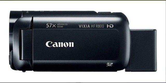 Câmera  semiprofissional Canon Vixia HF R800 Full HD  - Foto 4