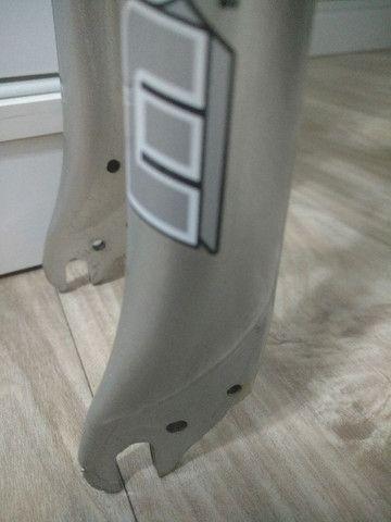 Garfo C/ Suspensão 26 Over C/ Rosca 65mm Mode Base Alumínio - Foto 5