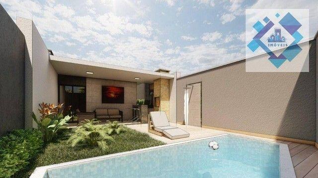 Casa com 3 dormitórios à venda, 98 m² por R$ 340.000 - Parnamirim - Eusébio/CE - Foto 14