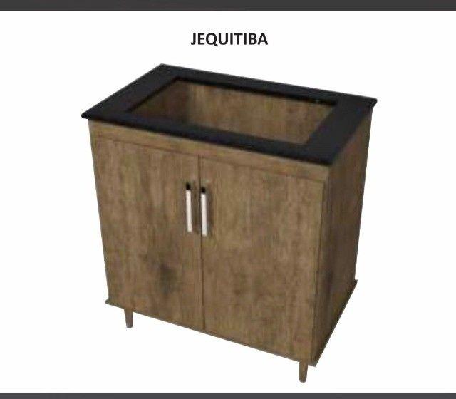 Balcão para Cooktop 2 Portas 1 Gaveta - Catálogo completo via whats - Foto 2