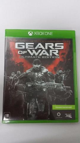 Jogo Gears of War Ultimate Edition seminovo game Xbox One