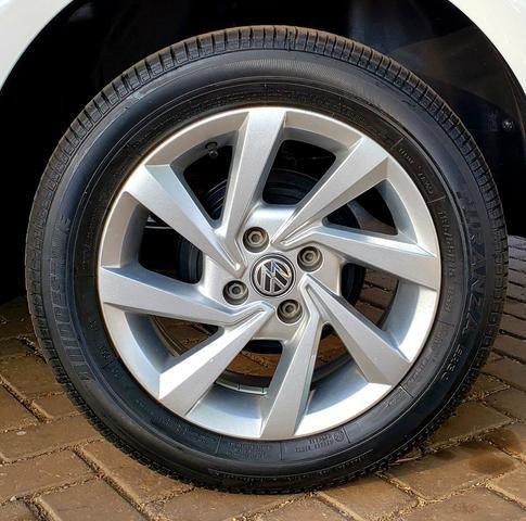 Aceita Troca VW Voyage 1.6 MSI Flex Automático Único Dono Baixo Km - Foto 5