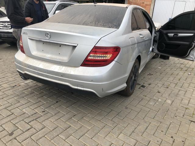 Sucata Mercedes C200 CGI 1.8 2014 - Foto 3