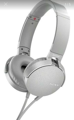 Fone Sony com fio Headphone Extra Bass MDR-XB450