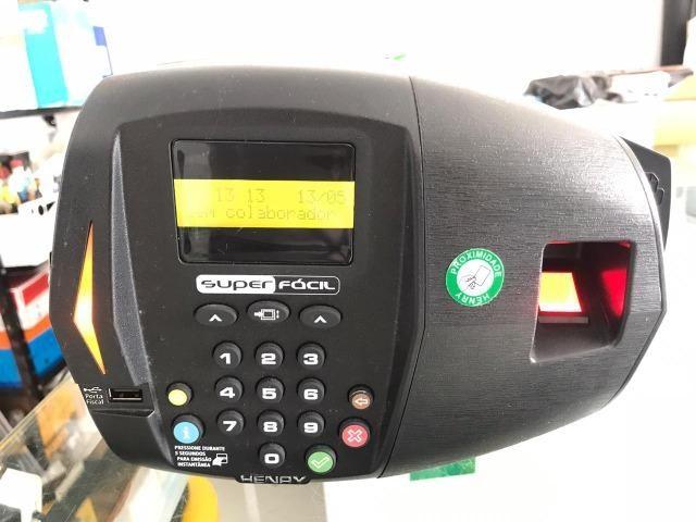Relógio de Ponto Digital Henry com Biometria Novo