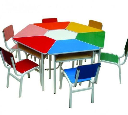 Conjunto de mesa escolar - Foto 6