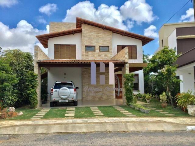 Casa duplex com 3 dormitórios à venda, 228 m² por r$ 590.000 - parque das nações - parnami