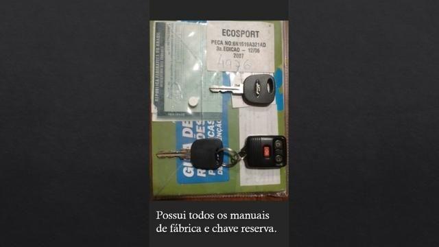 Ford Ecosport 1.6 completa, (Único Dono ) 48.300Km originais - Foto 9