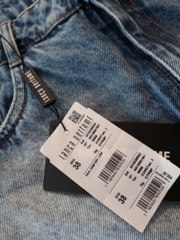 Saia Jeans - Nova. Lança Perfume - Foto 3