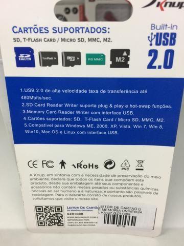 Leitor de cartão varios modelos para ligar no USB