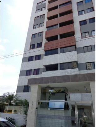 Vendo apartamento no Condomínio Ville de Nice em Capim Macio, 63m² 3/4 sendo uma suite