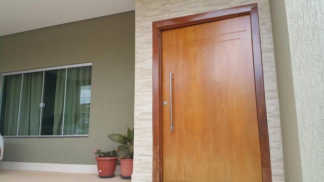 Casa 3quartos laje suite churrasqueira rua 6 Vicente Pires condomínio fechado lote 200m2 - Foto 6