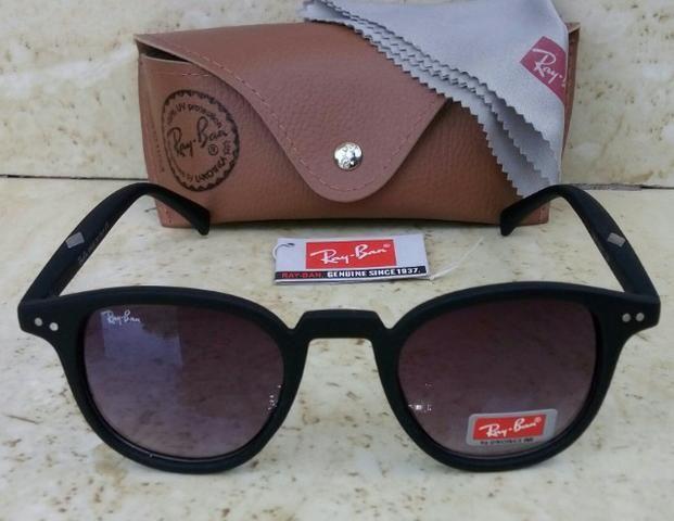 86d4f5f2d Óculos de Sol Ray ban feminino preto retrô - Bijouterias, relógios e ...