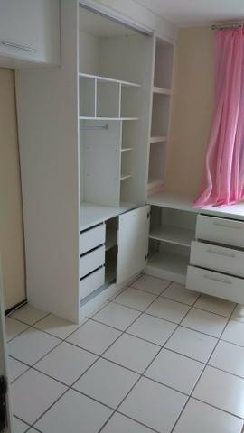 Vendo apartamento no Condomínio Ville de Nice em Capim Macio, 63m² 3/4 sendo uma suite - Foto 6
