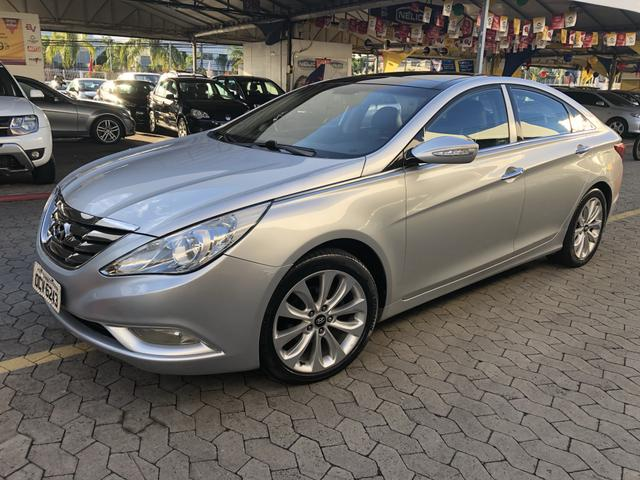 Sonata 2.4 GLS 2011 top de linha - Foto 3