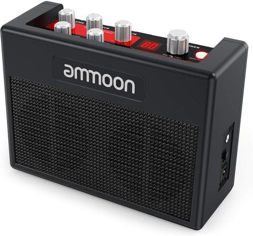 Amplificador de guitarra 80 Ritimos bateria completo novo! - Foto 3