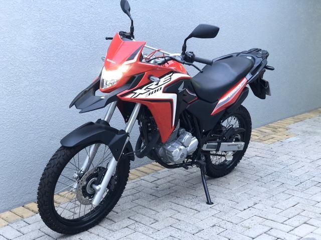XRE 300 2019 com 200km