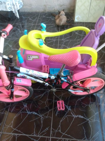 Carrinho e bicicleta infantil  - Foto 2