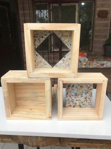 Caixa modelo INPA abelhas sem ferrão - ASF - Foto 2