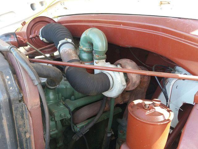 Caminhão Plataforma MB 1314 ano 87 - Foto 6