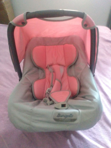 Carrinho de bebê Burigotto+bebê conforto - Foto 6