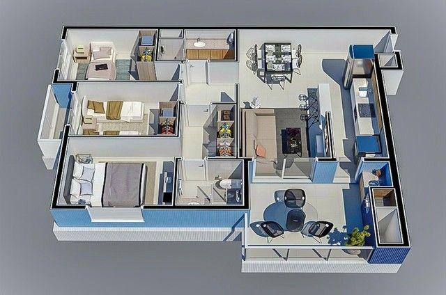 Apartamento à venda com 3 dormitórios em Caioba, Matinhos cod:155296 - Foto 14