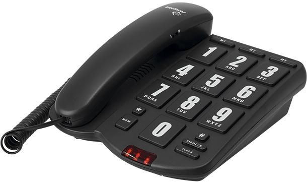 Telefone tecla gigante Intelbrás Tik Fácil