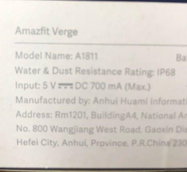 Amazfit  Verge A1811  - Foto 4
