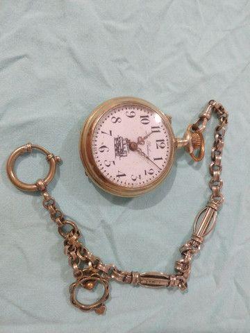 Relógio raridade ano 1800