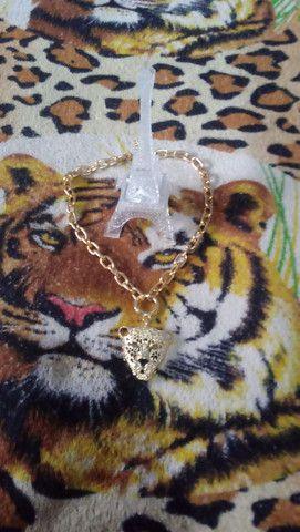 Vendo esse colar de onca nunca usado 30reais - Foto 2