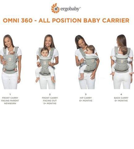 Canguru ERGO BABY 360 com suporte para recém nascido! - Foto 2