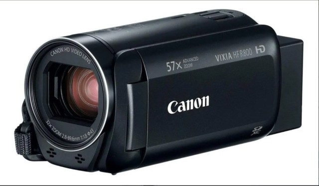 Câmera  semiprofissional Canon Vixia HF R800 Full HD