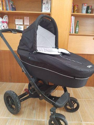 Carrinho de bebe Norton 3 em 1 moises, Mobi e carrinho - Foto 6