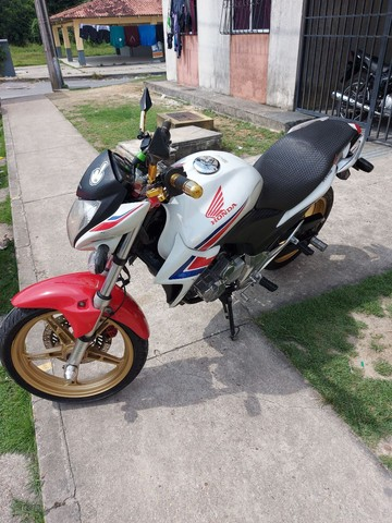 Vendo ou troco essa moto aceito moto, menor com volta. - Foto 4