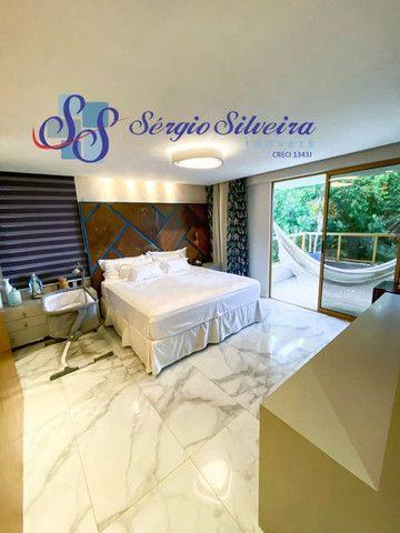 Casa no Alphaville Fortaleza mobiliada e climatizada, com piscina privativa, alto padrão - Foto 8