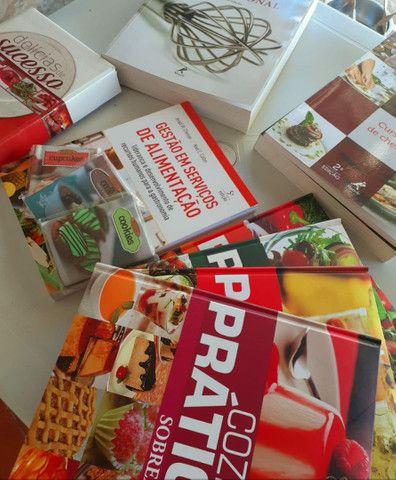 Kit de livros culinários da editora Mundial - Foto 3