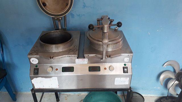 Máquina de fritar frango  - Foto 2