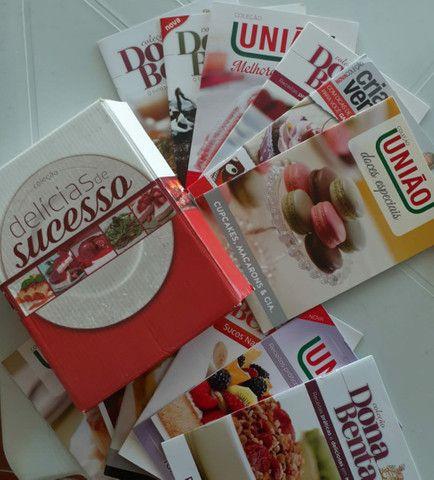 Kit de livros culinários da editora Mundial - Foto 5