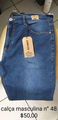 Calças novas masculinas  - Foto 4