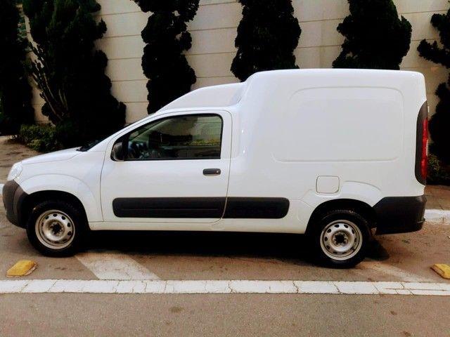 Fiat Fiorino Furgão 1.4 Flex Branco Basico Km Baixa Tem Basica e Completa - Foto 10