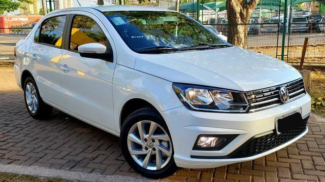 Aceita Troca VW Voyage 1.6 MSI Flex Automático Único Dono Baixo Km - Foto 4
