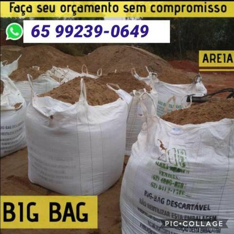 Areia - Brita - Terra Preta Sacos ( BigBag )