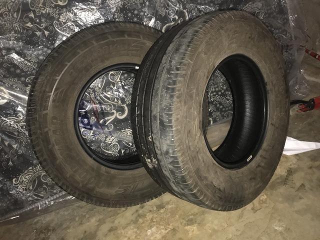 2 pneus Goodyear, 265/70 aro 16. - Foto 5