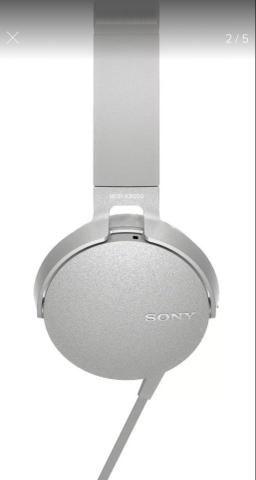 Fone Sony com fio Headphone Extra Bass MDR-XB450 - Foto 4