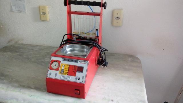 Ferramentas para oficina -Torquímetro, Teste de Bateria e Máquina de Limpeza de Bicos