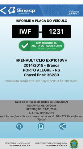 Renault Clio Expre. FLEX 4P Un. Dono - Foto 6