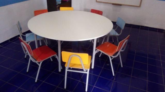 Conjunto de mesa escolar - Foto 2
