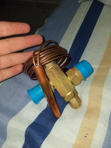 Válvula de expansão termostatica 8 tr nunca usado - Foto 2