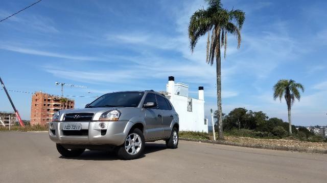 Vendo Hyundai Tucson manual com GNV - Foto 18