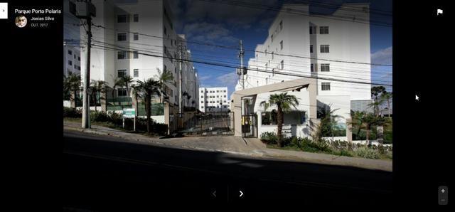 Apartamento 2 quartos e box garagem Res Porto Polaris Bela Vista Caxias - Retomado